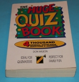 The Huge Quiz Book
