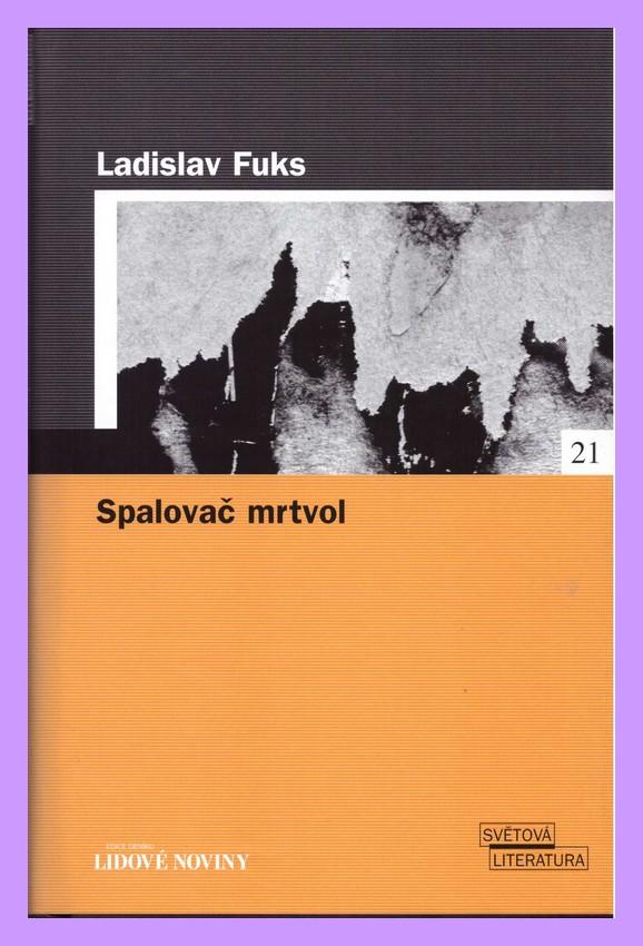 Výsledek obrázku pro spalovač mrtvol kniha lidové noviny