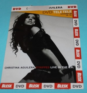 DVD Christina Aguilera - Stripped Live in the U.K.