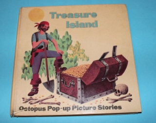 Treasure Island  - Pop up Picture Stories