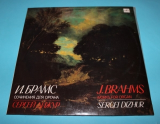 LP Works for Organ - J. Brahms