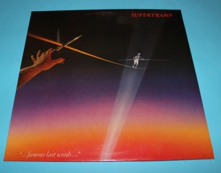 "LP ""...Famous Last Words..."" - Supertramp"